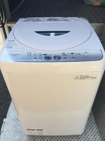 洗濯機 シャープ ES-FG45L