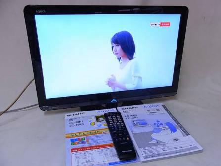 SHARP AQUOS LC-22K3 22V型液晶テレビ