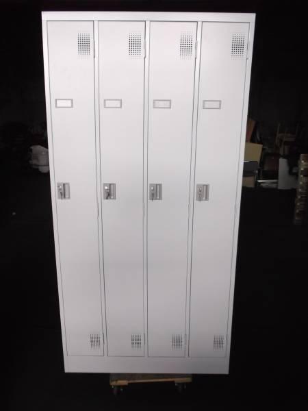 豊國工業 事務用スチールロッカー4人用 TLK-S4