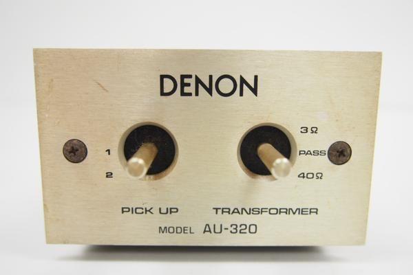 DENON 昇圧トランス AU-320