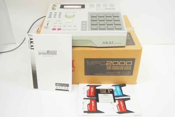 AKAI サンプラー MPC 2000
