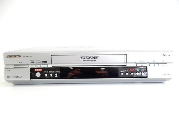 Panasonic Hi-Fiステレオ ビデオレコーダー NV-HX33G