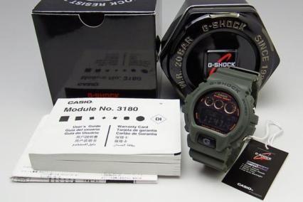 CASIO G-SHOCK G-6900KG-3 タフソーラー ミリタリー