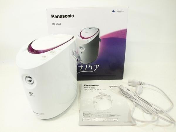 Panasonic スチーマー ナノケア EH-SA63