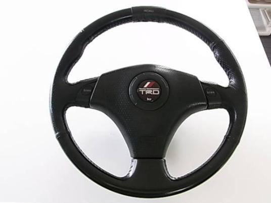 トヨタ イプサム 革ステアリング