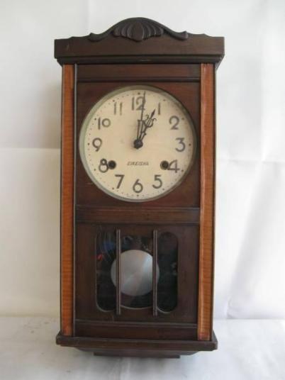 EIKEISHA アンティーク柱時計
