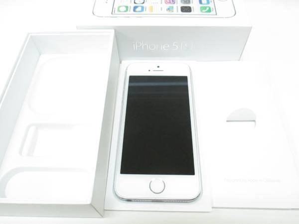 スマホ docomo iPhone5S 16GB SV ME333J/A