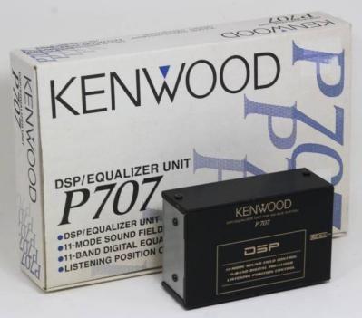 KENWOOD P707 ハイダウェイDSPユニット