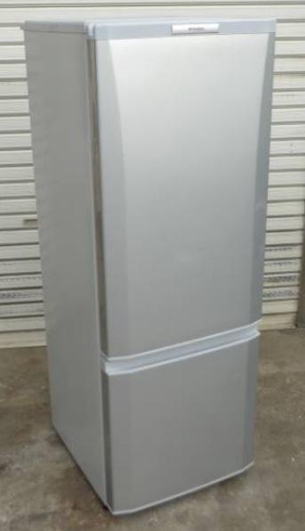 三菱ノンフロン冷凍冷蔵庫 MR-P17S-S