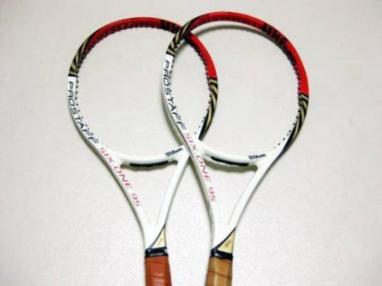 プロスタッフSIX-ONE95 2本テニスラケット
