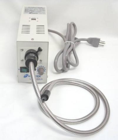 モリテックス ハロゲン光源50W+ライトガイド