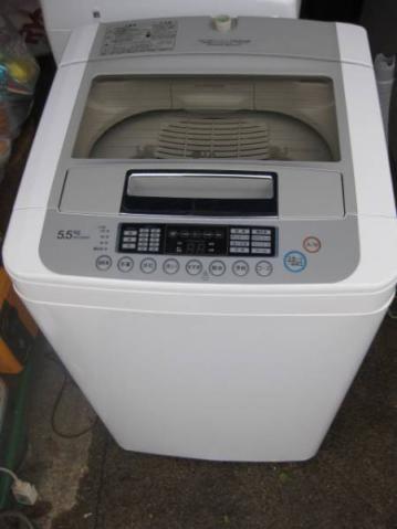 LG 全自動洗濯機 WF-C55SW