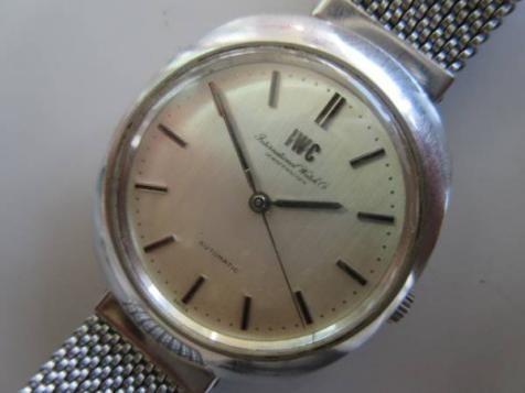 IWC SCHAFFHAUSEN メンズ 自動巻 腕時計