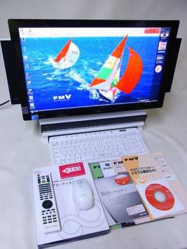 富士通 DESKPOWER FMVLXD90D Core2 DUO E7500/4G/1TB/WinVista