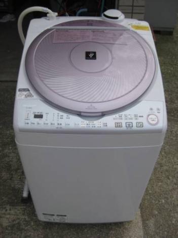 SHARP 乾燥機付 洗濯機 8.0kg ES-TX820