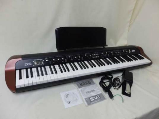 KORG SV-1-88鍵盤 StageVintage Piano
