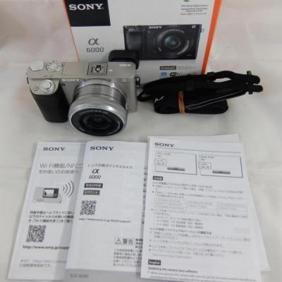 ソニー デジタル一眼カメラ α6000 ILCE-6000L