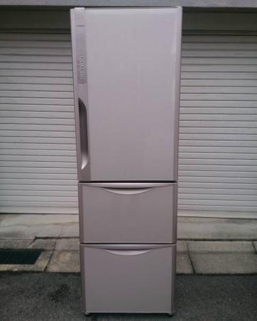 日立 冷凍冷蔵庫 真空チルド R-K370EV